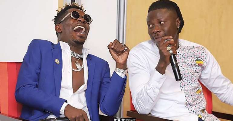 Shatta Wale Is Infected ― Stonebwoy Claims