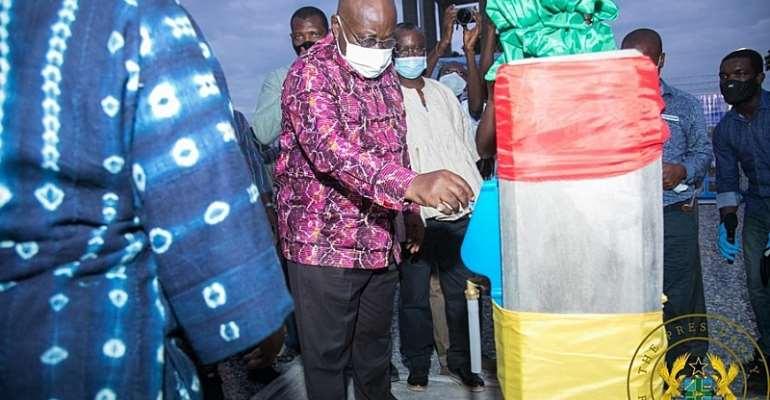 Akufo-Addo Fulfils 2016 Campaign Promise At Yapei