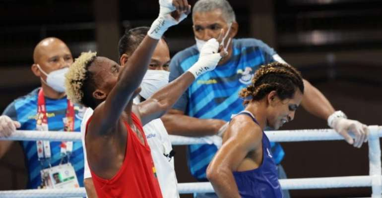 Tokyo Olympics: Ghana's Samuel Takyi advances to the Quarter Finals after a gritty display