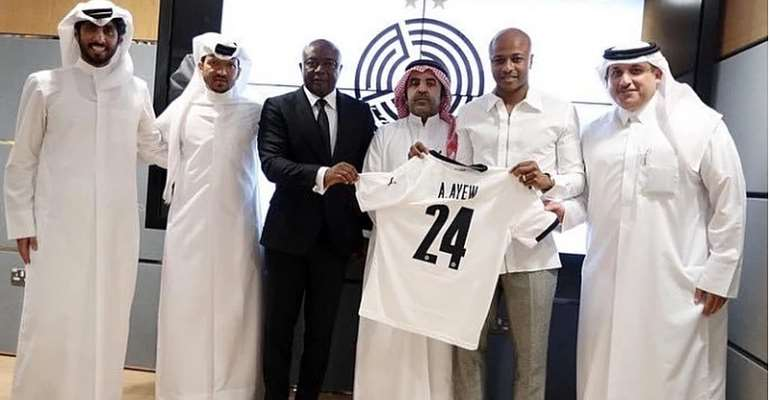 Go for the money when you have achieved everything in football - Solar Ayew defends Andre Ayew's move to Al Sadd