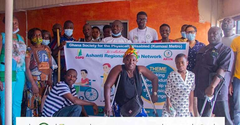 Youth Network engages Ghana Society of People with Disability