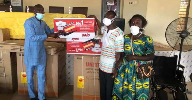 PWDs receive support from Akrofuom District Assembly