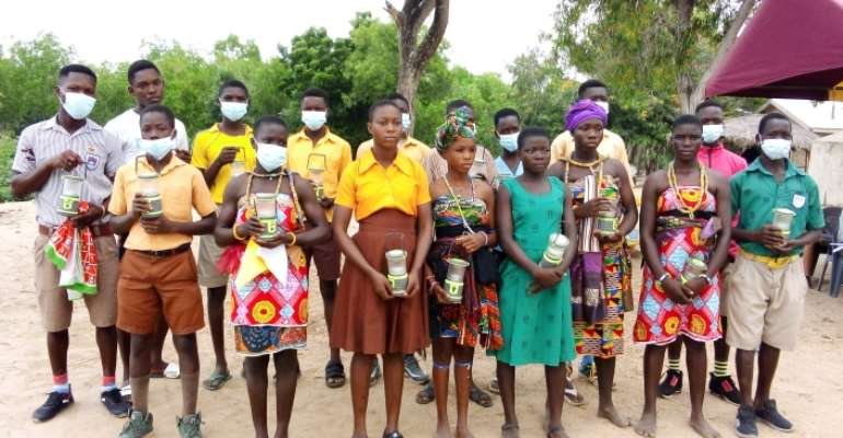 Anloga District: Bomigo Basic School gets support from NGO