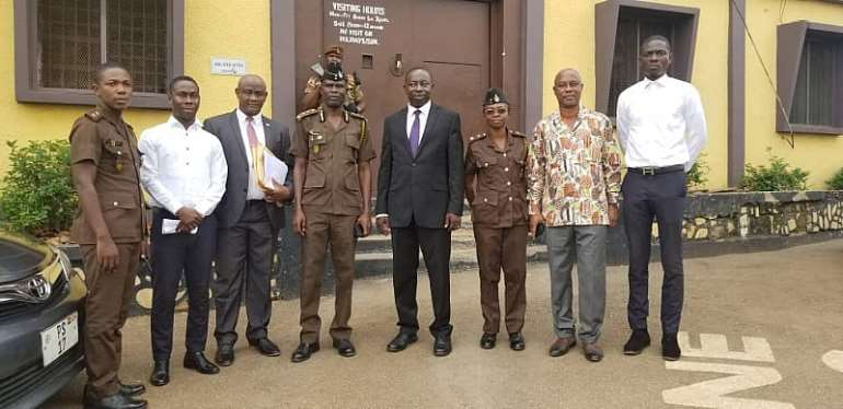 Justice For All Benefits 7 Prisoners, 53 Others At Kumasi Central Prison