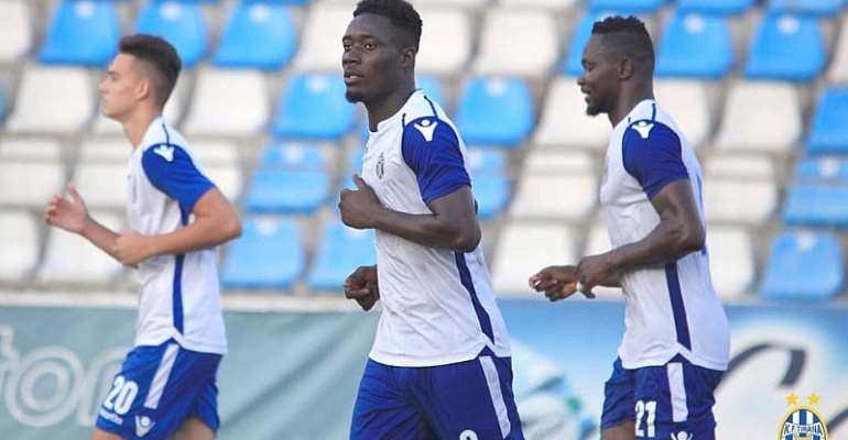 Winful Cobinna Grabs Debut Goal In KF Tirana Preseason Friendly
