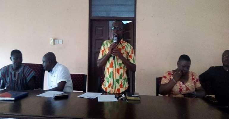 Mr. Peter Afari, Deputy Coordinating Director
