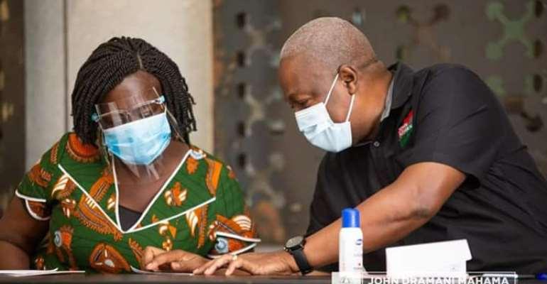 Naana Opoku-Agyemang Was Addressing John Mahama