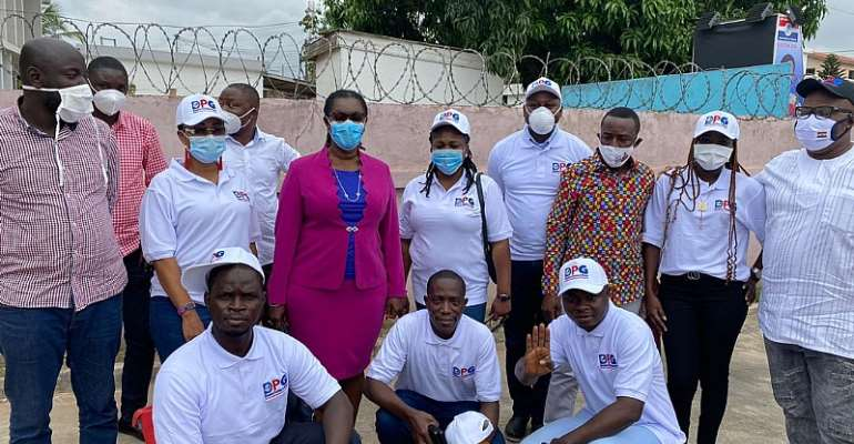 Greater Accra Regional NPP, DPG Members Monitor Voter Registration Centers In Accra