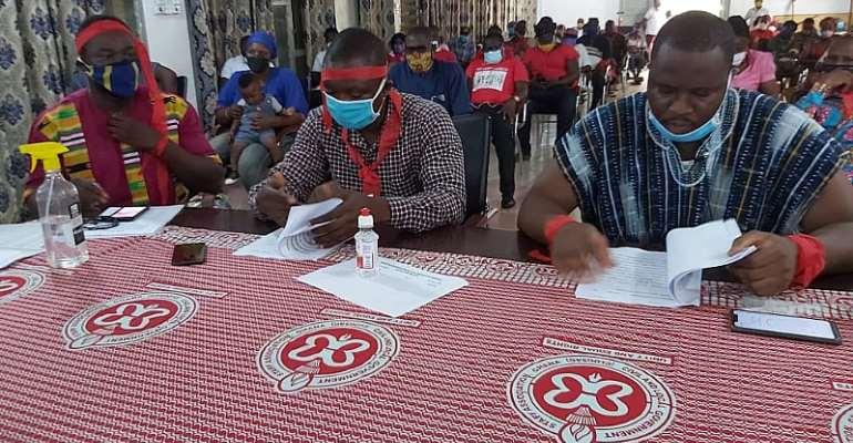 Kassena-Nankana: Stop The Illegal GHC30 Welfare Deductions – CLOGSAG Members Demand