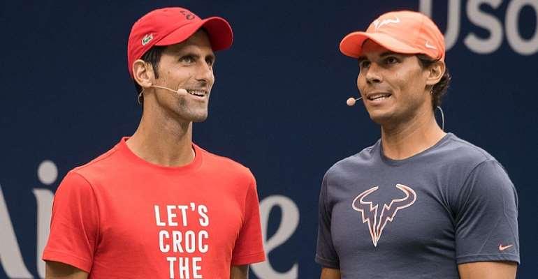 Novak Djokovic, Rafael Nadal  Image credit: Getty Images