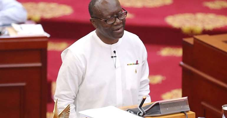 Minister of Finance Ken Ofori-Atta