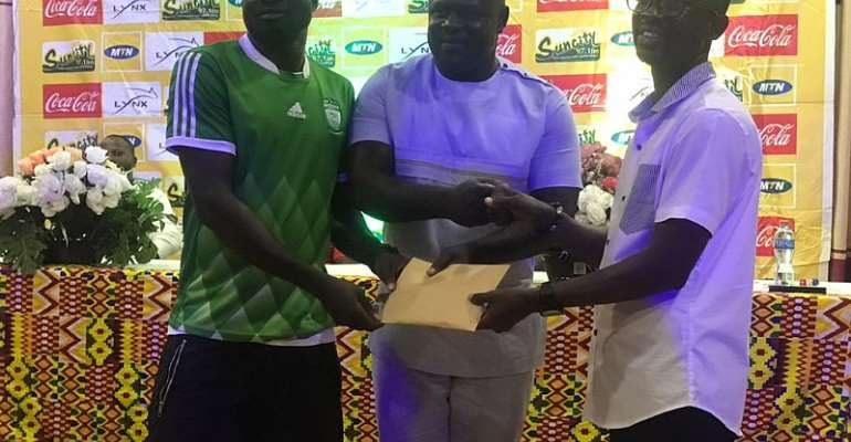 Vice Presidential Staffer donates GHc10,000 to fulfill promise to Tano Bofoakwa F.C