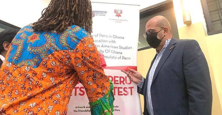 Embassy of Peru in Ghana launches Arts Contest in collaboration with UG CLAS