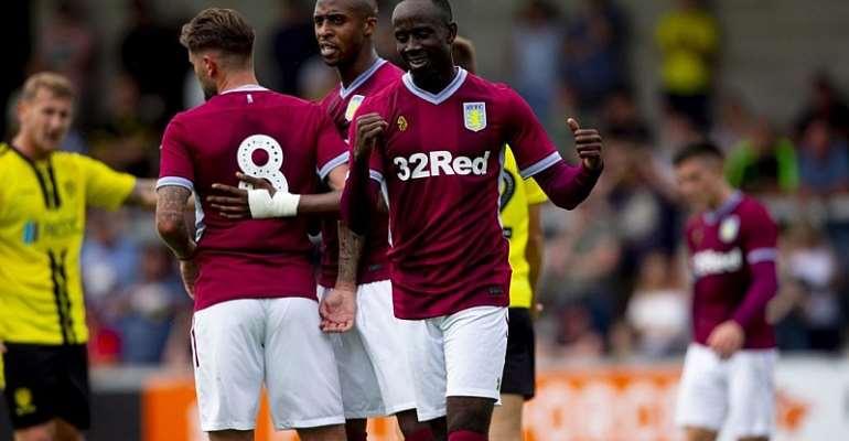 Aston Villa Manager Steve Bruce Wards Off Interest For Middlesbrough Target Albert Adomah