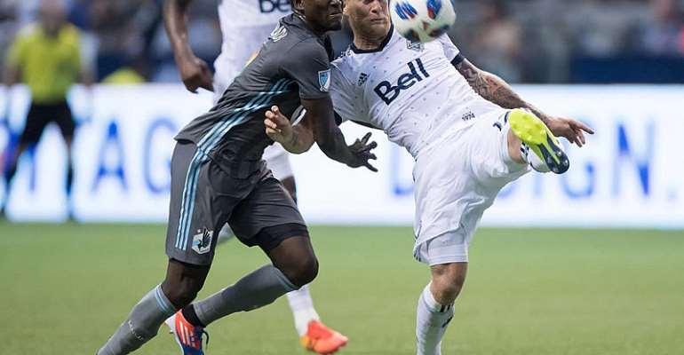 Abu Danladi Scores On Injury Return For Minnesota United In Vancouver Whitecaps Defeat