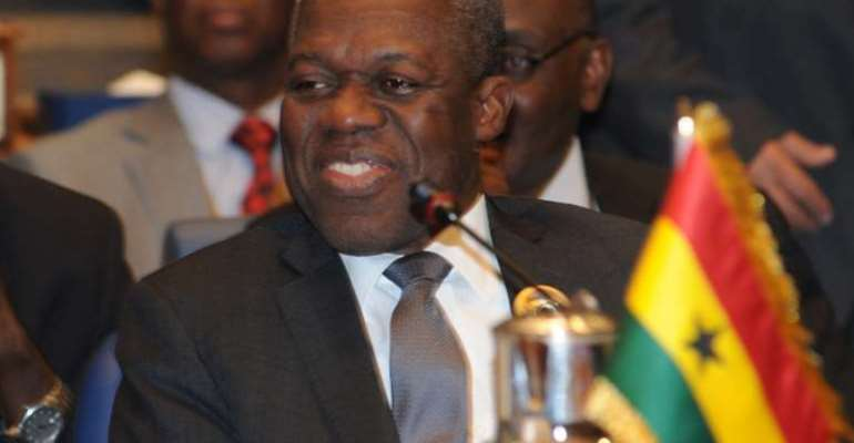 The late former Vice-President, Paa Kwesi-Amissah Arthur