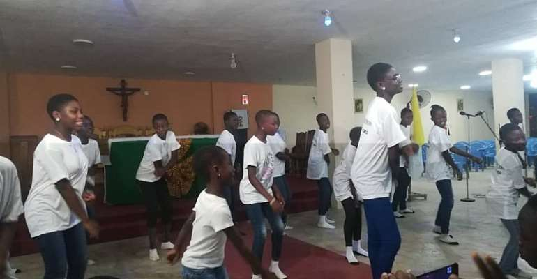 Our Lady Of Lourdes Church Holds Akwaaba Praise