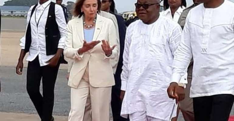 A Short Advice To Parliament On Nancy Pelosi's Visit To Ghana