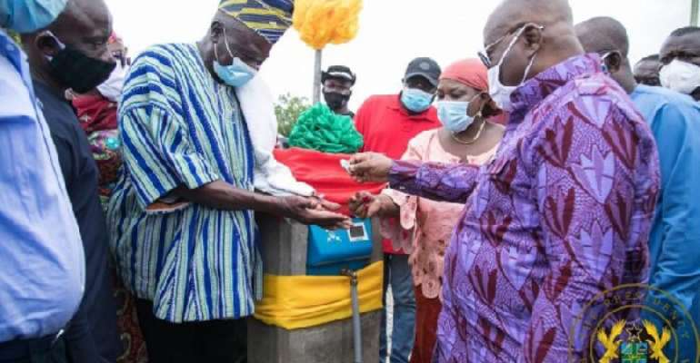 Eco-Conscious Citizens Lauds Nalerigu Water Supply Project