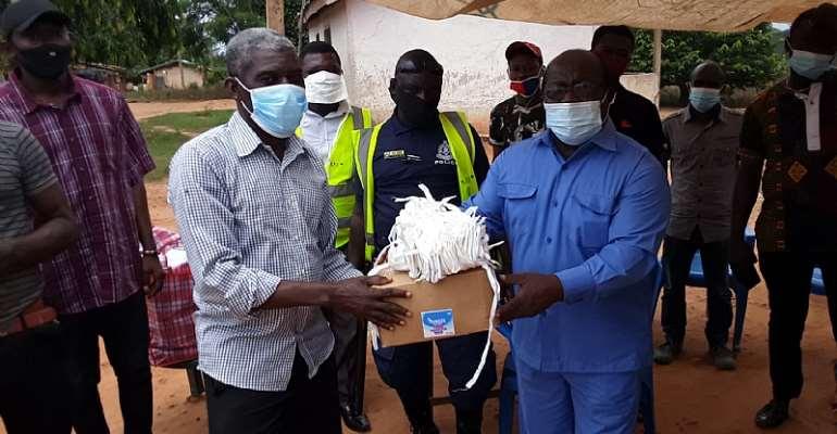 COVID-19: Juaben Municipal Donates PPEs To EC Officials