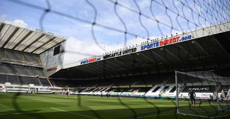 A general view of the stadium ahead of the English Premier League football match between Newcastle United and Sheffield United at St James' Park in Newcastle-upon-Tyne, north east England on June 21, 2020Image credit: Getty Images