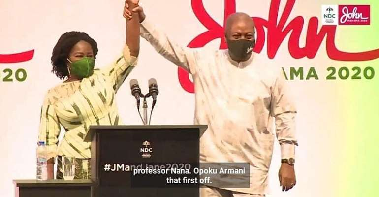 Jane Naana Has Paled Bawumia Into Insignificance; Ignore His Comical, Diversionary Antics – Mahama Campaign team