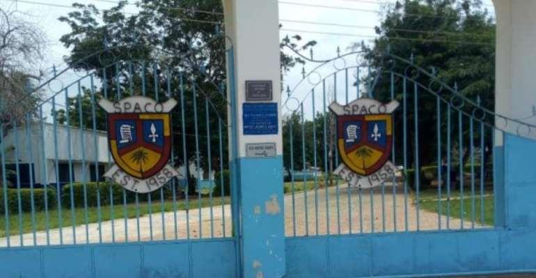 Aflao Police Calms Rioting Saint Paul's SHS Students
