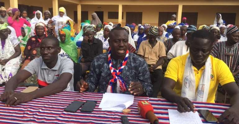 Abu Jinapor never offered rice to any youth group — Busunu NPP Polling Station Executives