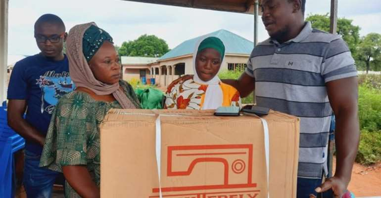 West Gonja: Female school dropout rescued by Wipe-Away Foundation