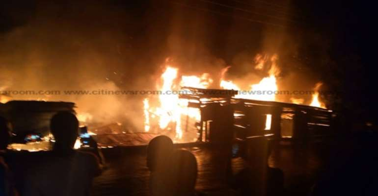 Fire destroyed property worth GHS24m within first 6 months of 2021 – Fire Service