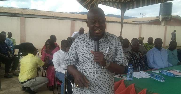 E/R: Fanteakwa South Booted Out Akufo Addo's DCE Nominee
