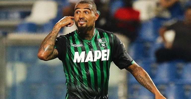 Kevin Prince Boateng Expected To Inject Experience Into Fiorentina Squad
