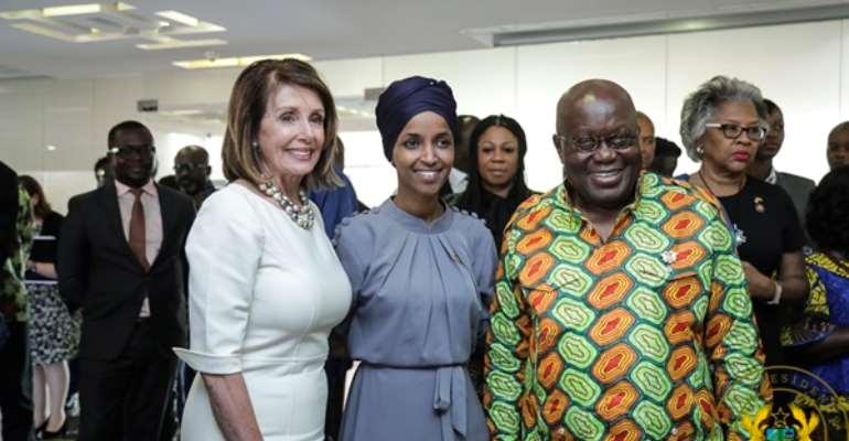 We Are Looking For A New, More Progressive Agenda With America - President Akufo-Addo To US Congress Speaker Pelosi