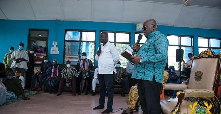 Akufo-Addo Welcomes Arrest Of Kafaba 'Killers'