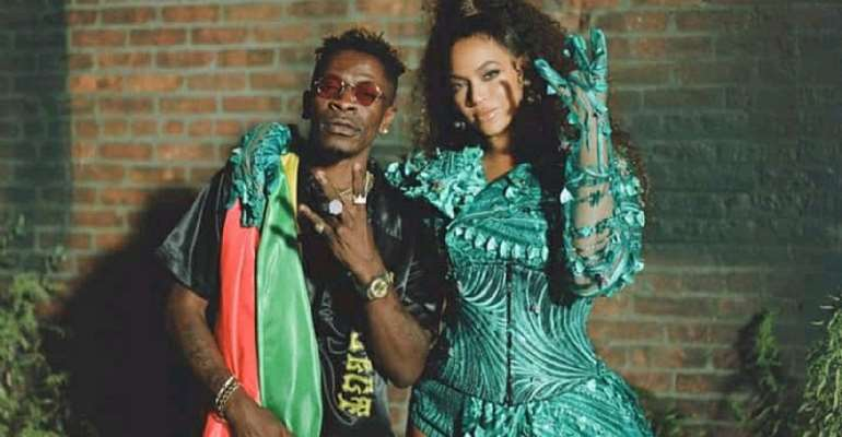 "Shatta Wale Eulogizes Beyonce – ""Thank You For Believing In My Talent And Working With Me"""