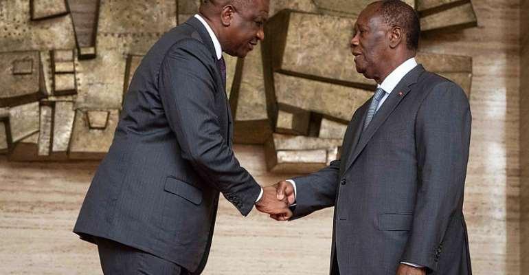 © AFP - Ivorian presidency handout