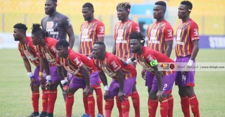 MTN FA Cup: Samuel Boadu names Hearts of Oak squad for Medeama SC tie