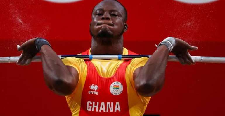 Tokyo 2020: Christian Amoah fails to progress after finishing 4th in weightlifting event