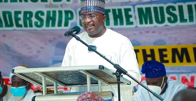 Bawumia calls for greater unity, cooperation between Muslims and Christians for national development