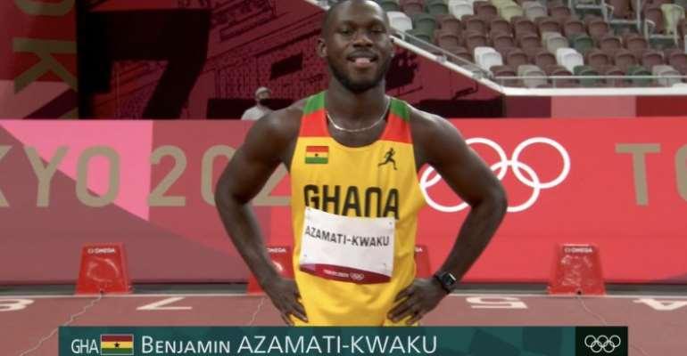 Ghana's 100m sprinter Benjamin Azamati fails to make semis at Tokyo Olympic Games