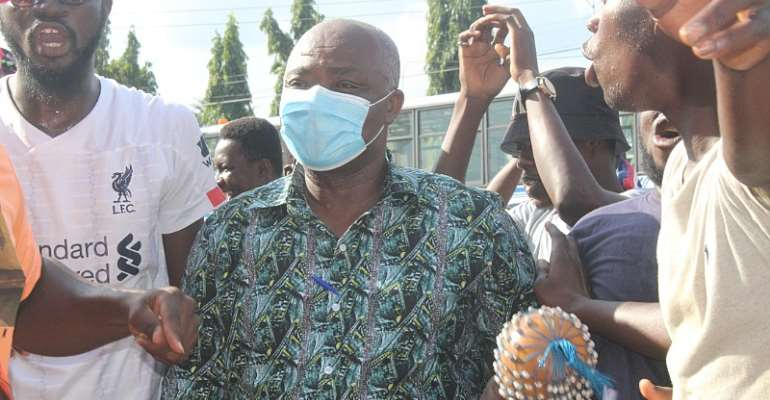 Sunyani Technical University Tescon mobs Francis Addai-Nimoh