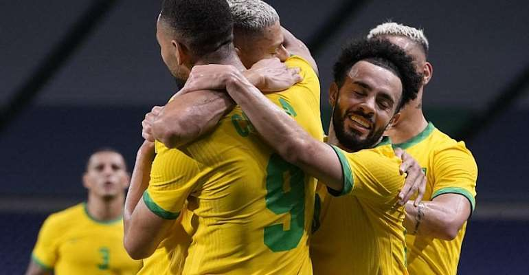 Men's Olympic football: Brazil, Japan, Mexico and Spain in semi-finals