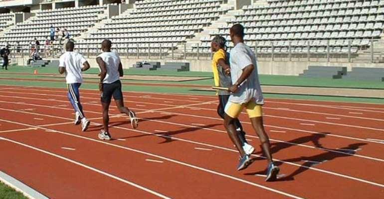Ghana wins gold in men's 4x100m relay