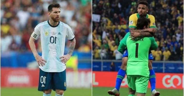 'Brazil vs Messi': Argentina Lampooned 2-0 In Copa America Semi-Final