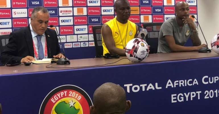 AFCON 2019: 'We Dominated Against Guinea Bissau', Says Black Stars Skipper Andre Ayew