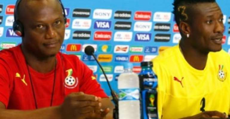 Gyan Will Eventually Get His Turn In The Starting Lineup – Kwesi Appiah Reveals