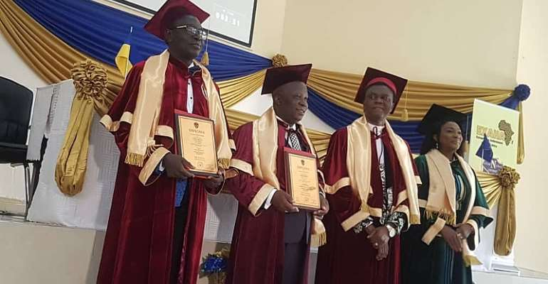 Dr. Samuel Ato Duncan Honoured As A Research Professor By ANU