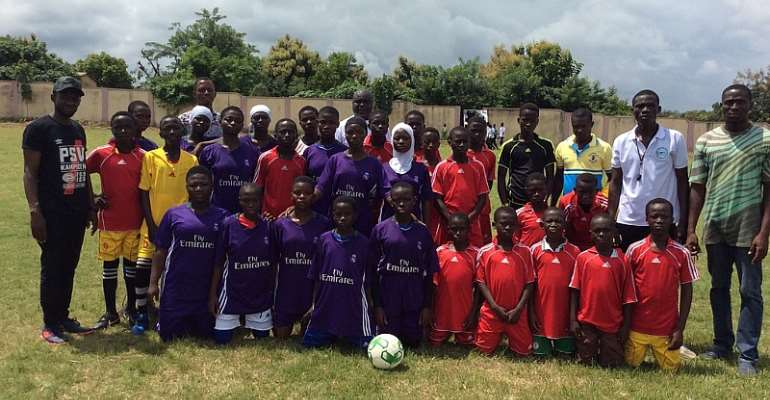 Forsports Foundation Promotes Gender Equality in Ghana through Sports