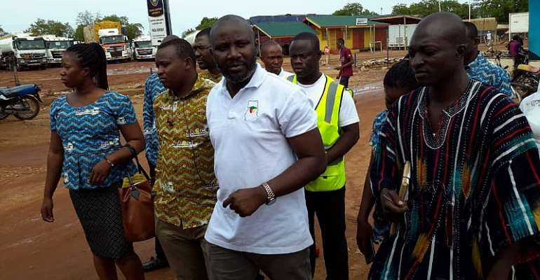 NABCO CEO tours Upper East Region