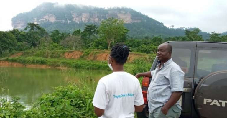 Fish Farmers In Kwahu Area Want Market For Produce
